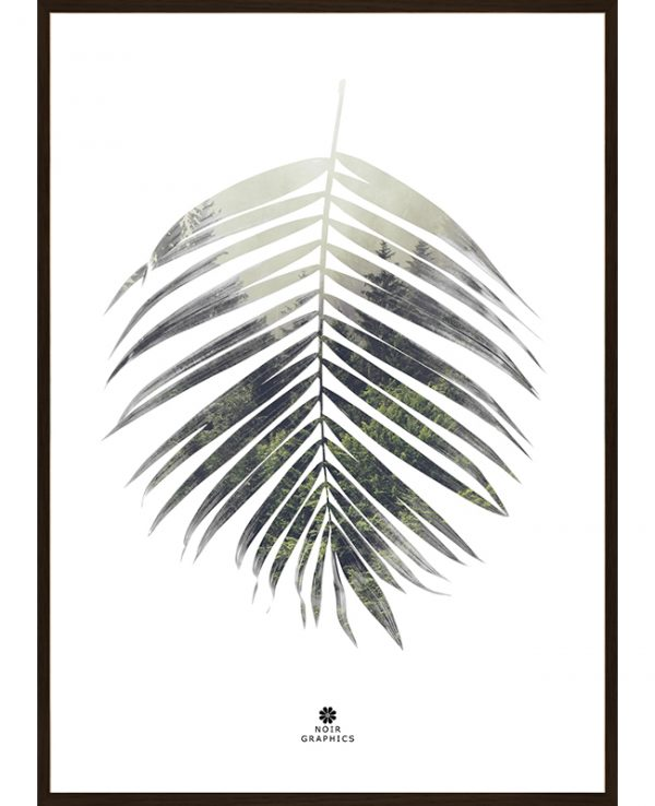 Palm Leaf Poster, Interartdesign.no