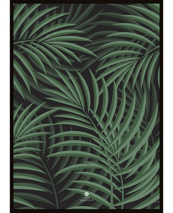 Tropical Bush Poster, Interartdesign.no